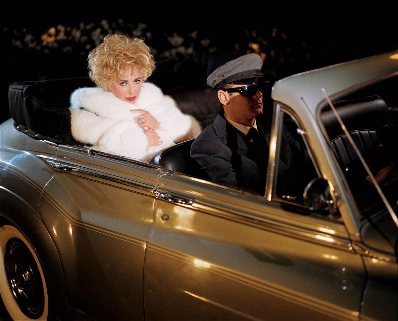 Elizabeth Taylor / Элизабет Тейлор - звезды Голливуда, фотограф Firooz Zahedi