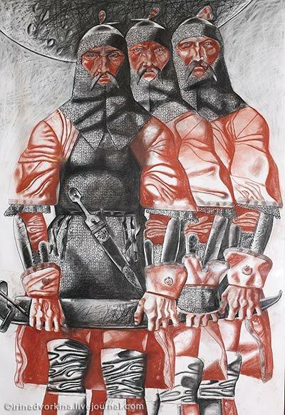Савкуев Хамид. Братья Нарты
