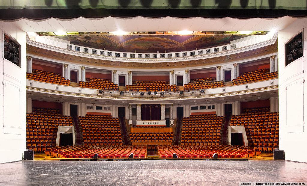 Схема большого зала цатра