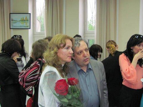 Маргарита Майская и Виктор Агранович