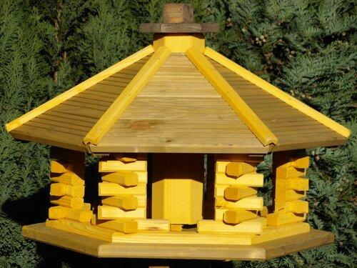 vogelhaus aus holz st nder vogelh uschen vogelh user vogelfutterhaus holzst nder ebay. Black Bedroom Furniture Sets. Home Design Ideas