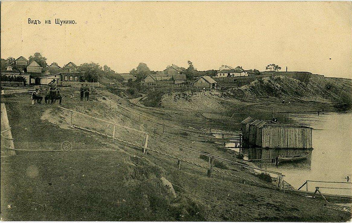 Окрестности Москвы. Щукино. Вид на село
