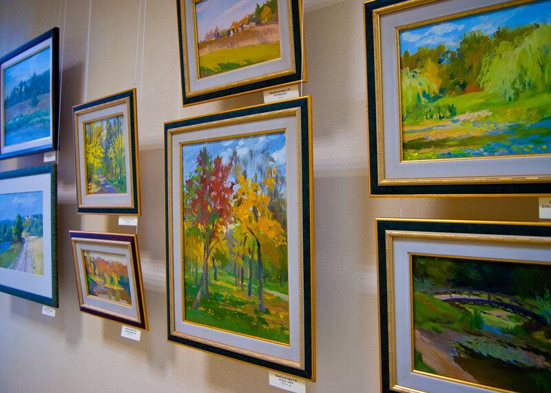 Выставка «Пространство и цвет»