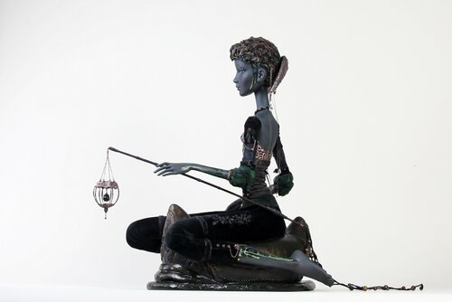 Авторская кукла из фарфора Елена Ильина Илена Ельина