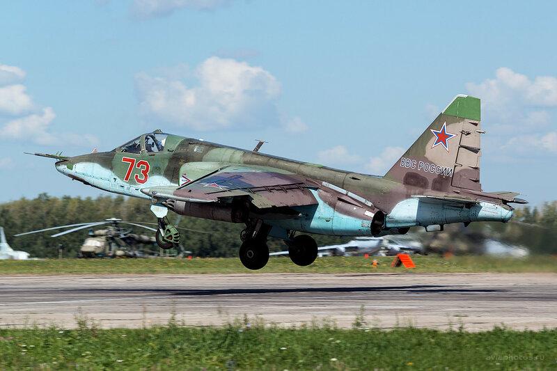 Сухой Су-25БМ (73 красный) D809900