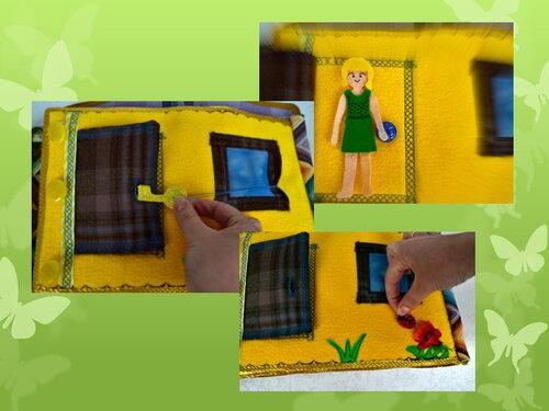 Развивающие игрушки своими руками. Сказочный домик Анны Воропаевой