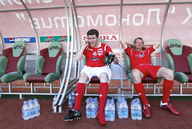 Денис Мацуев и Марат Башаров