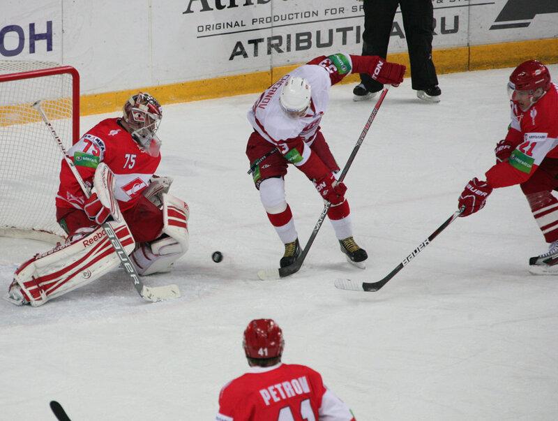 «Спартак» vs «Витязь» 2:3 Б чемпионат КХЛ 2012-2013 (Фото)