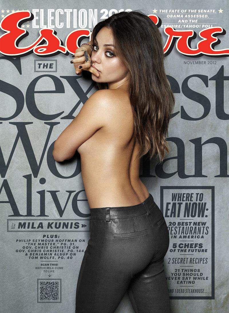 Журнал Esquire назвал самую сексуальную женщину года