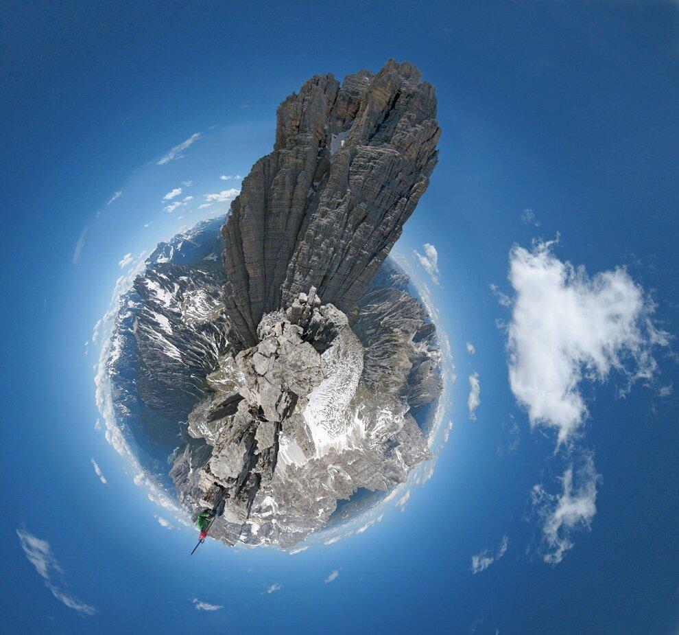 Панорамы-планеты Дэна Аркла