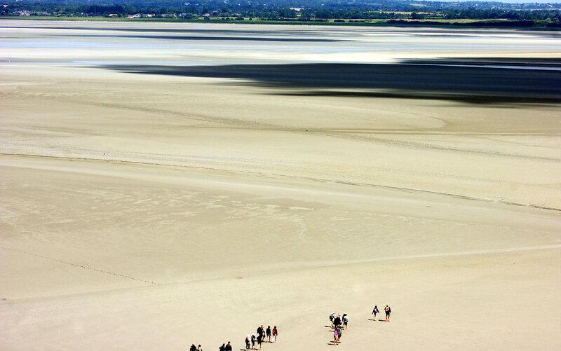 По пескам Нормандии
