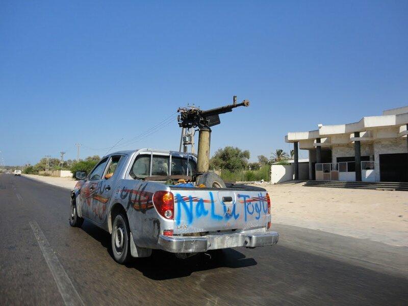Ливийские власти потеряли контроль над городом Бани-Валид