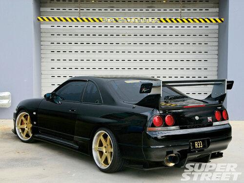 1995 Nissan R33 Skyline Gt R V Spec Front View