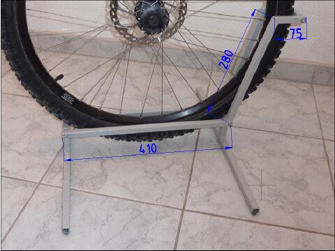 Подставка под колесо велосипеда своими руками 760
