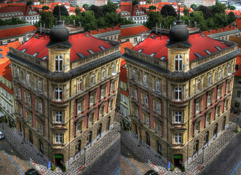 Прага 3d  crossstereopairs  stereo photo  stereoview  x3d  перекрёстная стереопара  стереопара  стерео фото