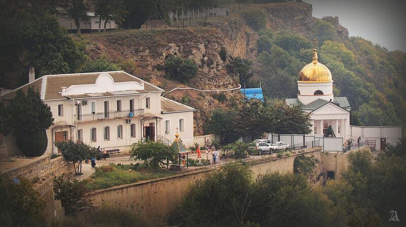 Фиолент, Свято-Геориевский мужской монастырь (пещерный)