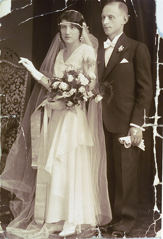 Аладар Барбер и Клари Перл. 1930, Будапешт, Венгрия