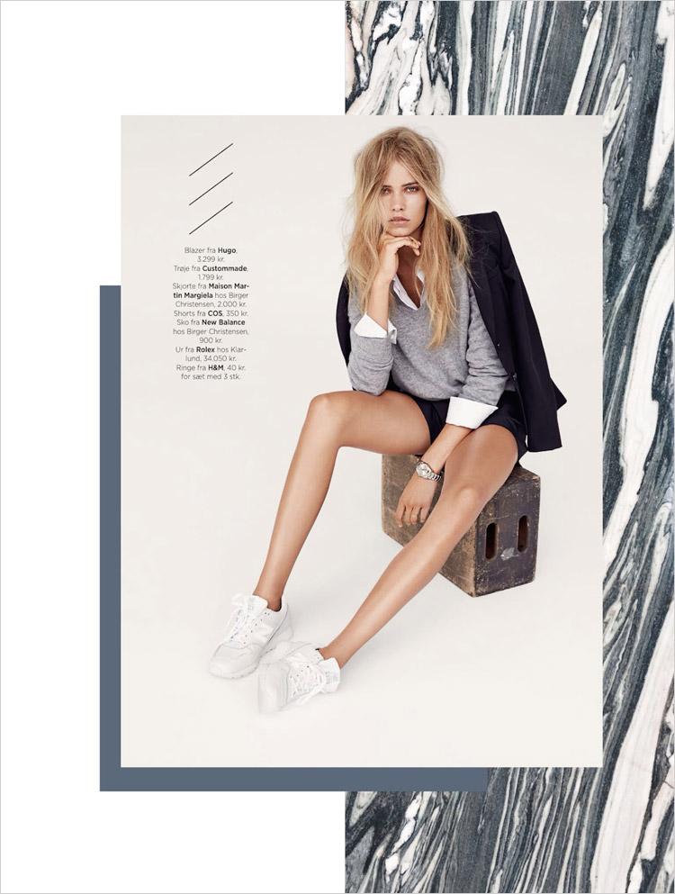 Кирстин Лильегрен (Kirstin Liljegren) в журнале Eurowoman
