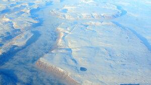 Перелёт DME-LAX, Гренландия