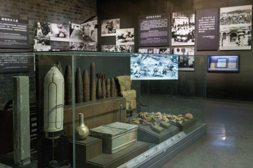 Зал, посвященный атаке японцев на Нанкин