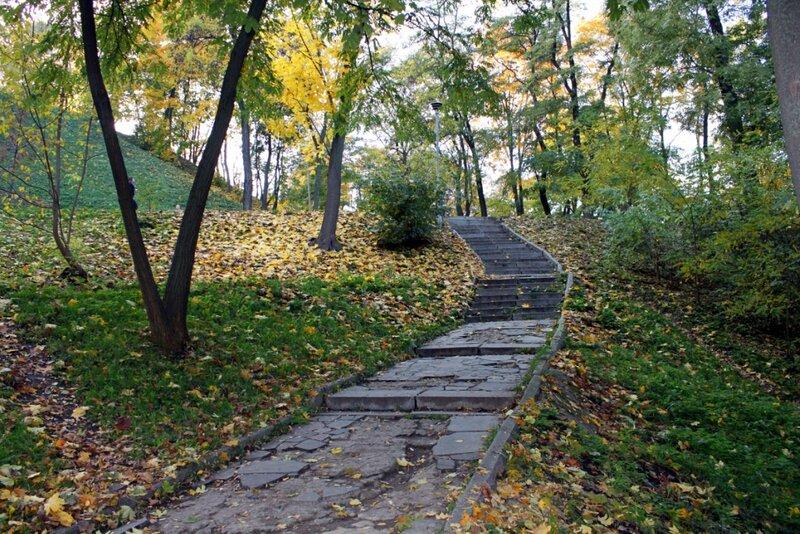 Лестница с Владимирской горки на Почтовую площадь