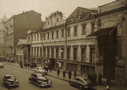 МХАТ, конец 40-х
