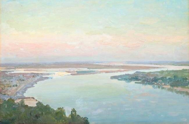 Труш Иван Иванович (1869 – 1941). «Днепровские дали», I четверть ХХ в.