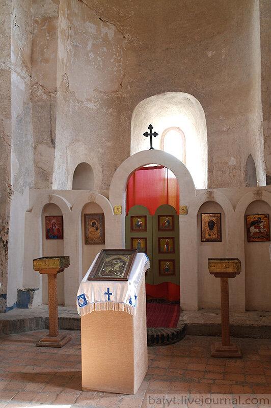 В церкви Уплисцули