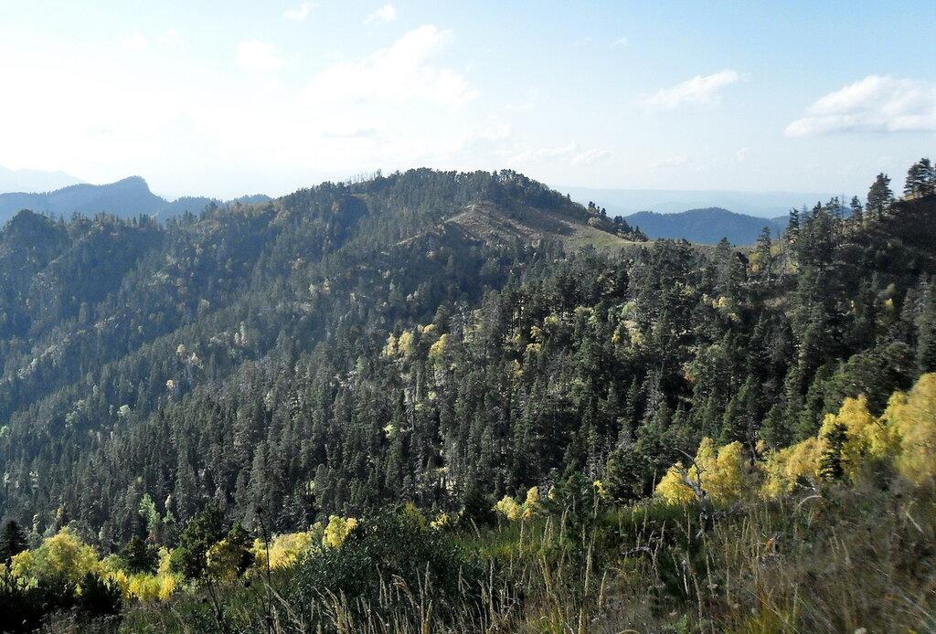 На склонах у Малого Тхача, сентябрь 2012