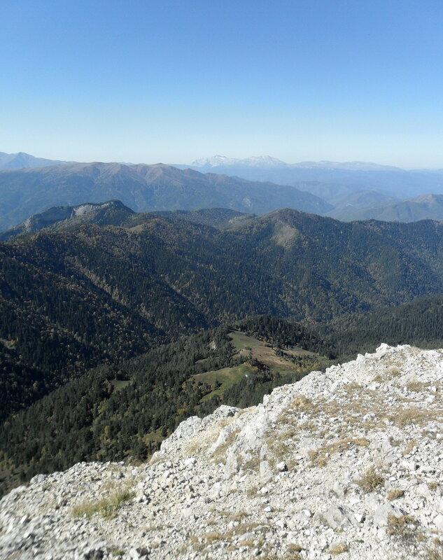 Большой Тхач, плато и вершины, сентябрь