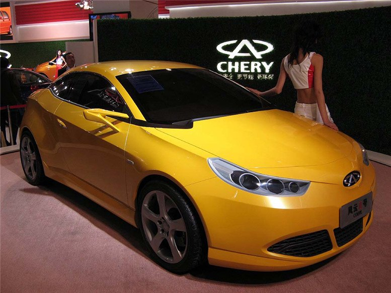 китайские автомобили - chery