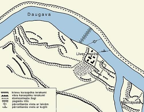 Место сражений Первой мировой