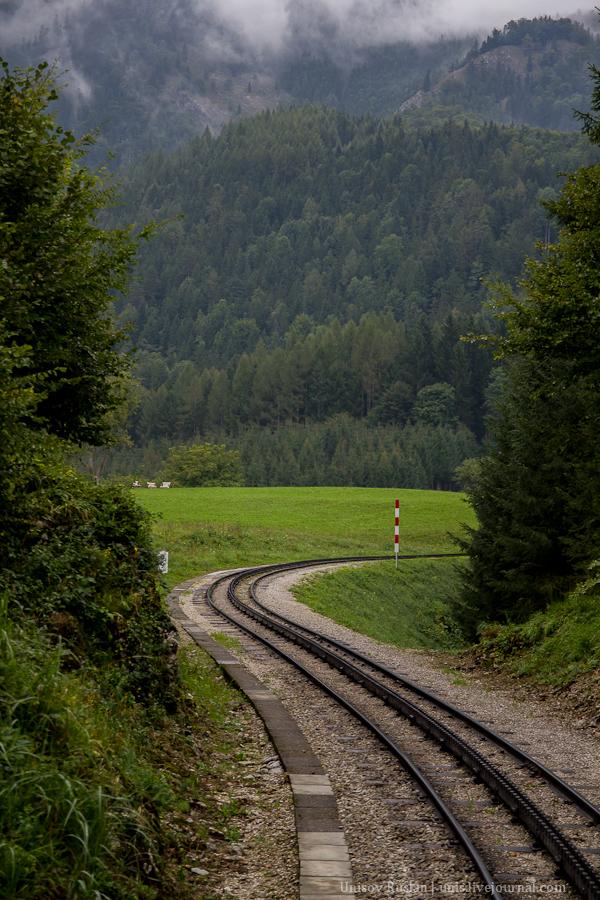 Шафбергбан - поезд с паровозом