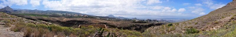 Вид со склона скал Графа, Тенерифе