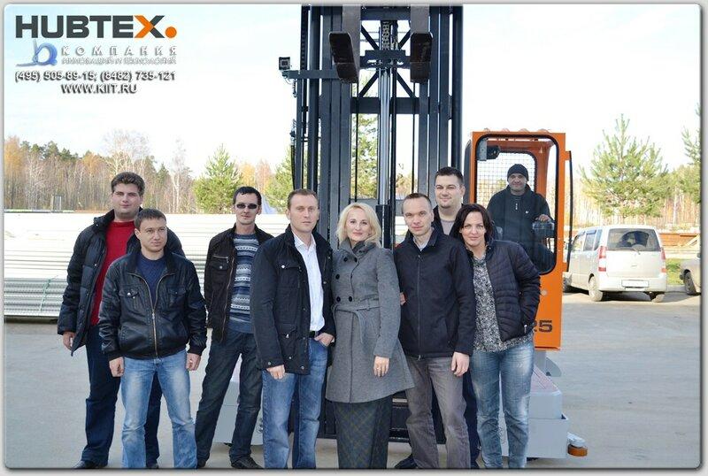 Запуск в эксплуатацию многоходовых погрузчиков HUBTEX в компании Alutex