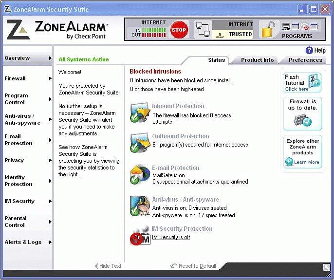 пакет антивирусных программ