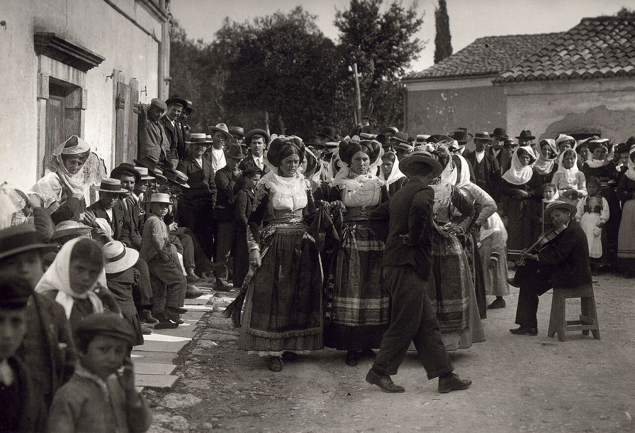 1903. Деревня Гастури, Корфу