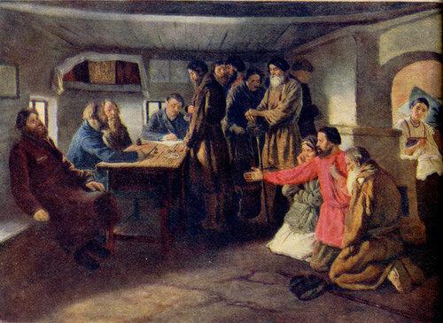 Трутовский К.А. Сбор податей. 1886 г..jpg