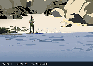 Поплавочная рыбалка - рыболовная игра на LENV.RU