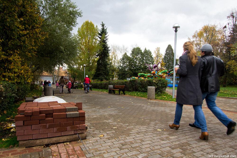 莫斯科公园的新变化(2) - die rose - die rose的博客