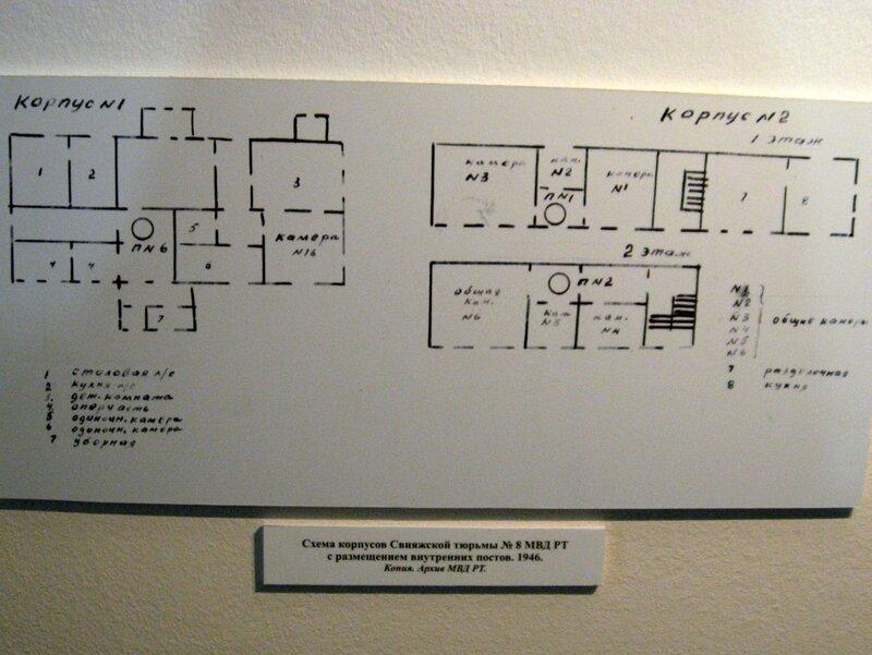 Схема корпусов Свияжской