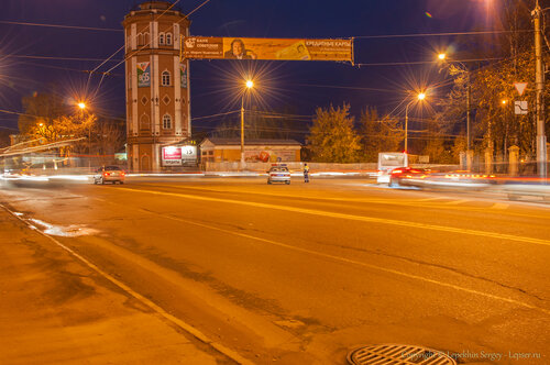 Ночная Вологда