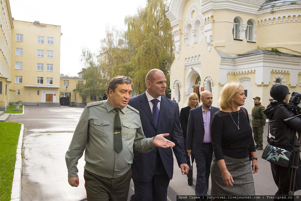 Александр Карелин в Твери