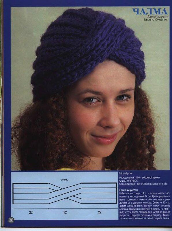 шапочка-чалма