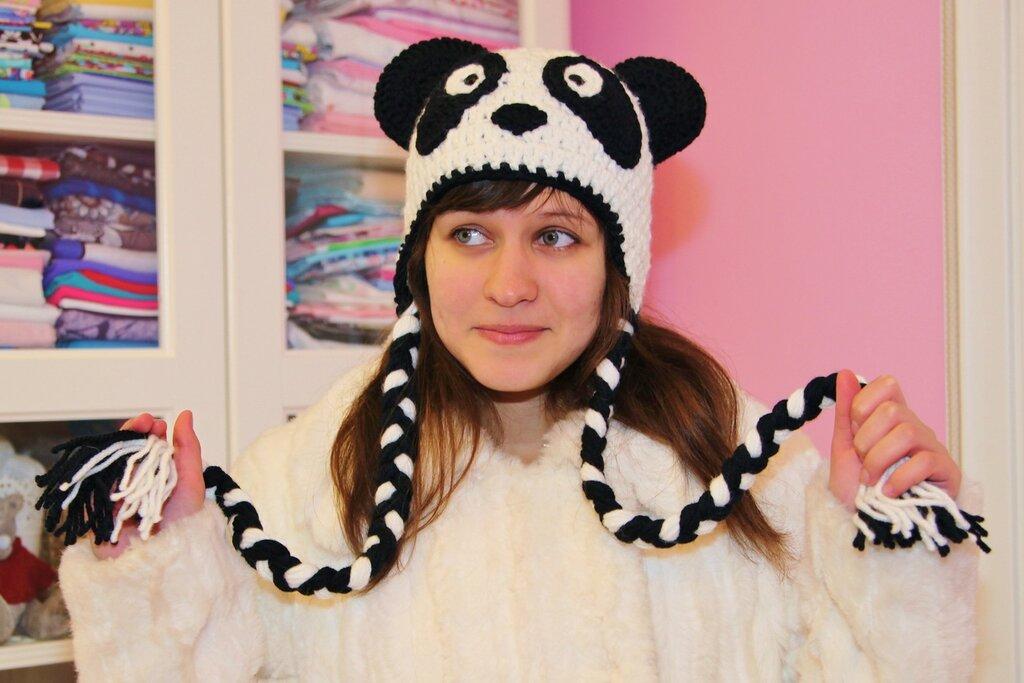 собачка и медведь панда)))