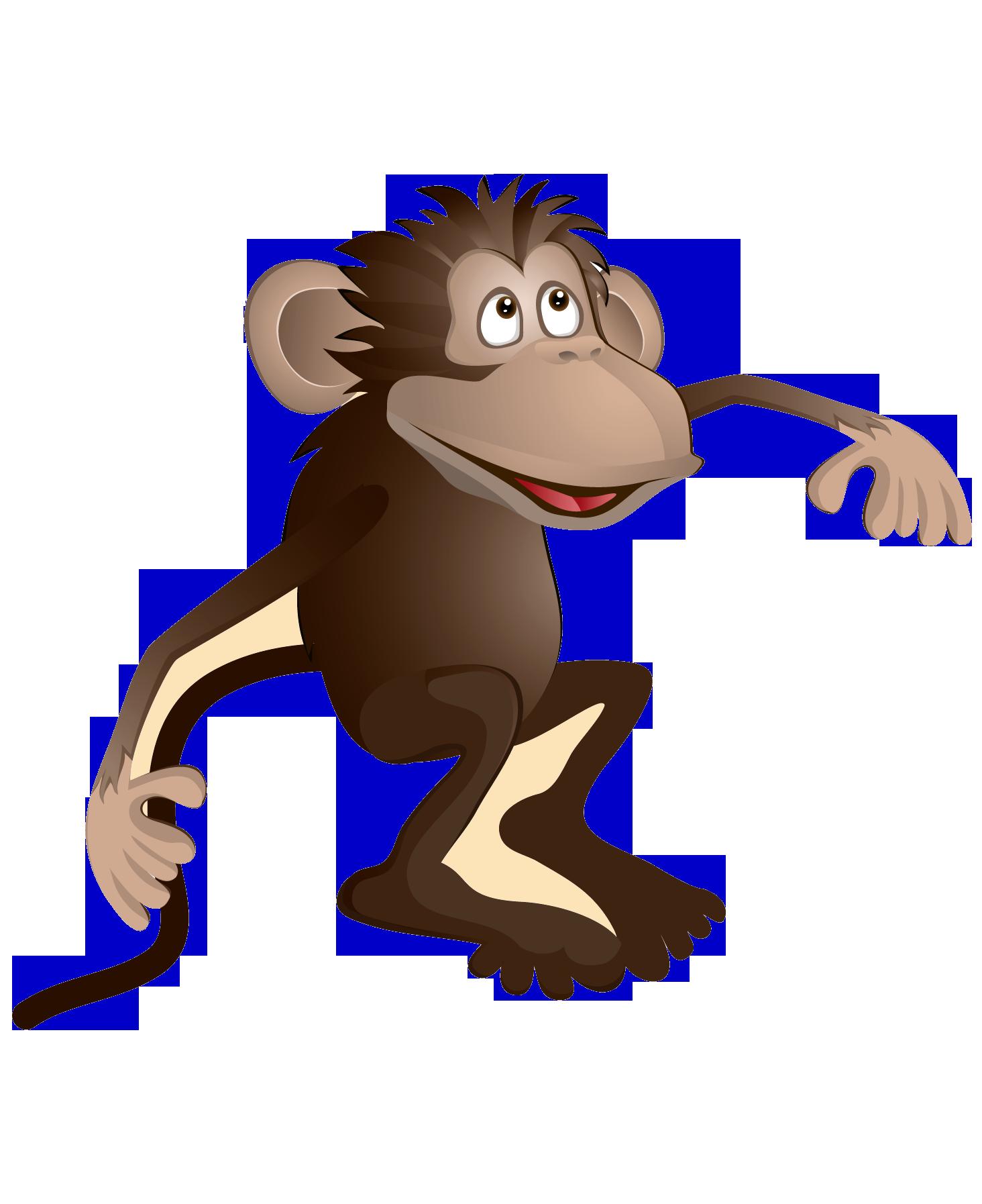 Счастливые обезьянки летучие мыши