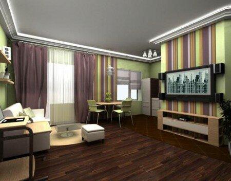 Дизайн 1 комнатной квартиры 39 кв м