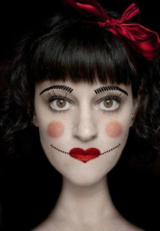 Make Up gor Halloween. wpid QsCcG3XkOVA Make Up gor Halloween.