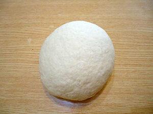 Ханум - блюдо узбекской кухни. Готовое тесто