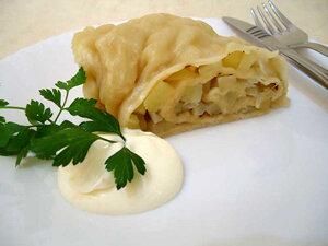 Ханум - блюдо узбекской кухни. Готовое блюдо